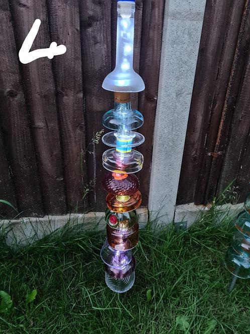 Bottle neck led totem pole