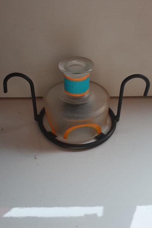 Malfy Orange Single Ring Table Light