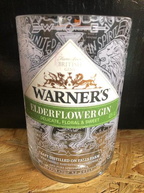 Warners Elderflour Gin Glass (Old Style)