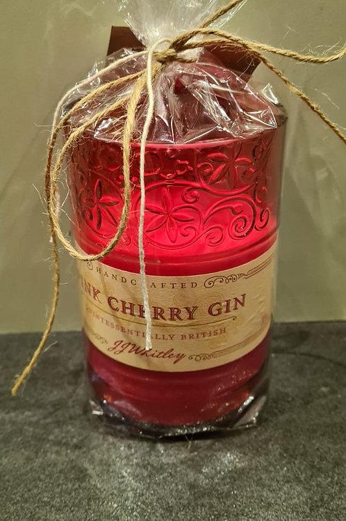 Pink Cherry Gin 300g Red Wax