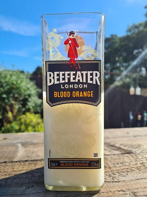 Beefeater blood orange, 300g, citronella, garden candle