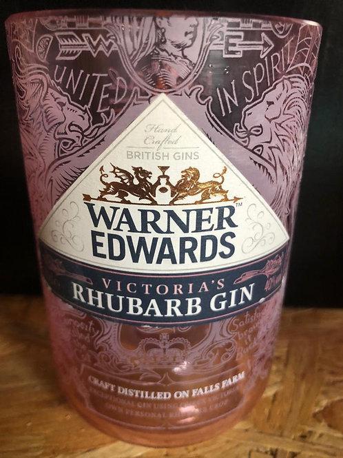 Warners Rhubarb Gin Glass (Old Style)