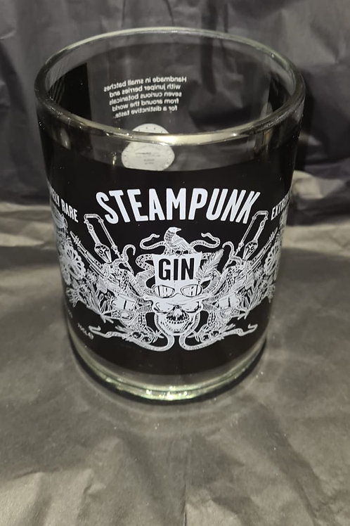 Steampunk Gin Glass