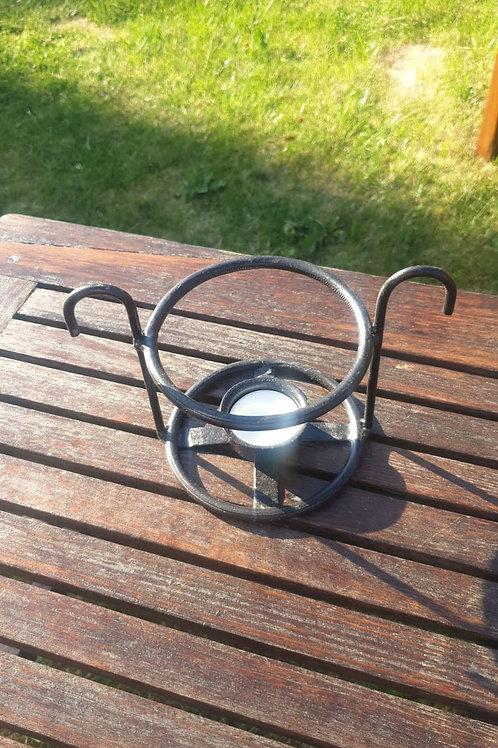 Steel Rod Ring Table Light Holder
