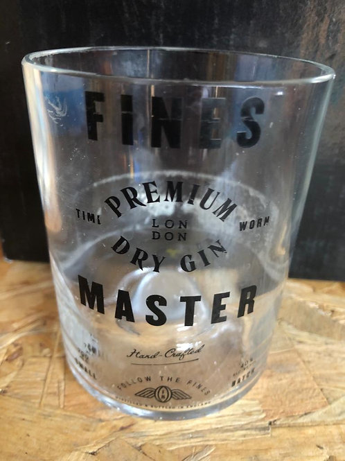 Fines Master Gin Glass