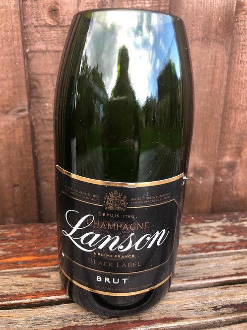 Lanson Black Champagne Vase