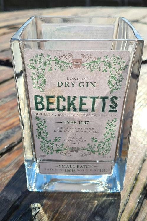 Becketts Gin Glass