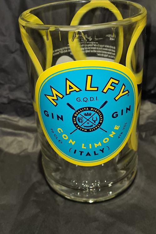Malfy Lemon Gin Glass