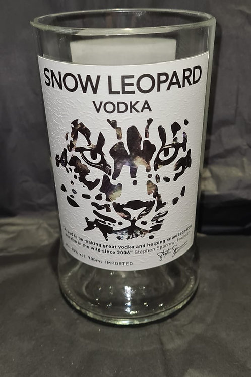 Snow Leopard Vodka Glass