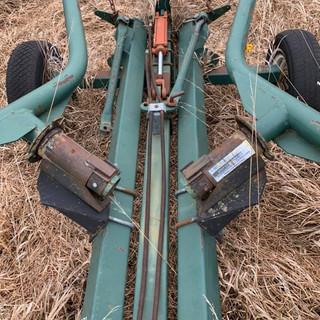 10 Wheel Panorama Folding Wheel Rake
