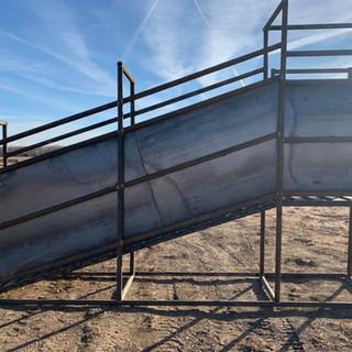 Livestock Loading Chute