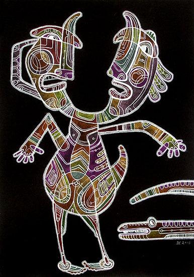Split personality / Original painting