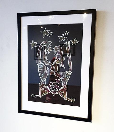 Star eater / Original painting