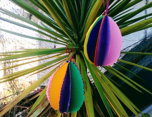 DIY Easter Egg activity craft idea