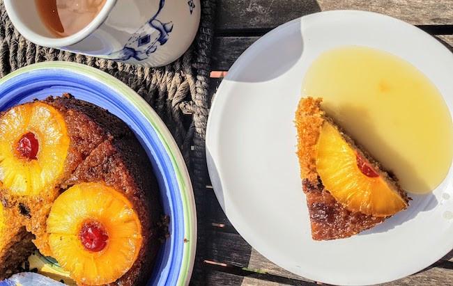 How to make a Pineapple upside-down cake
