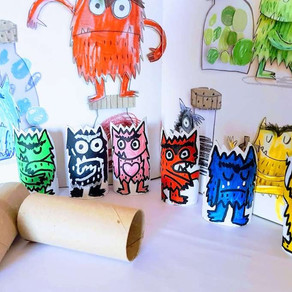 The Colour Monster craft