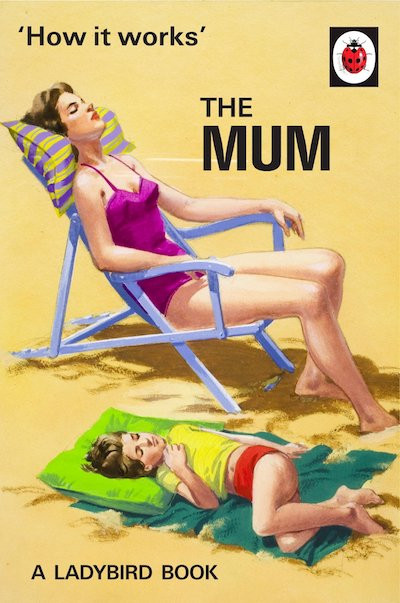 What children Really Wants. The Mum. Ladybird book. How It Works