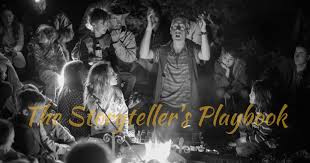 The Storyteller's Play book. Storytelling course. Chris Holland.