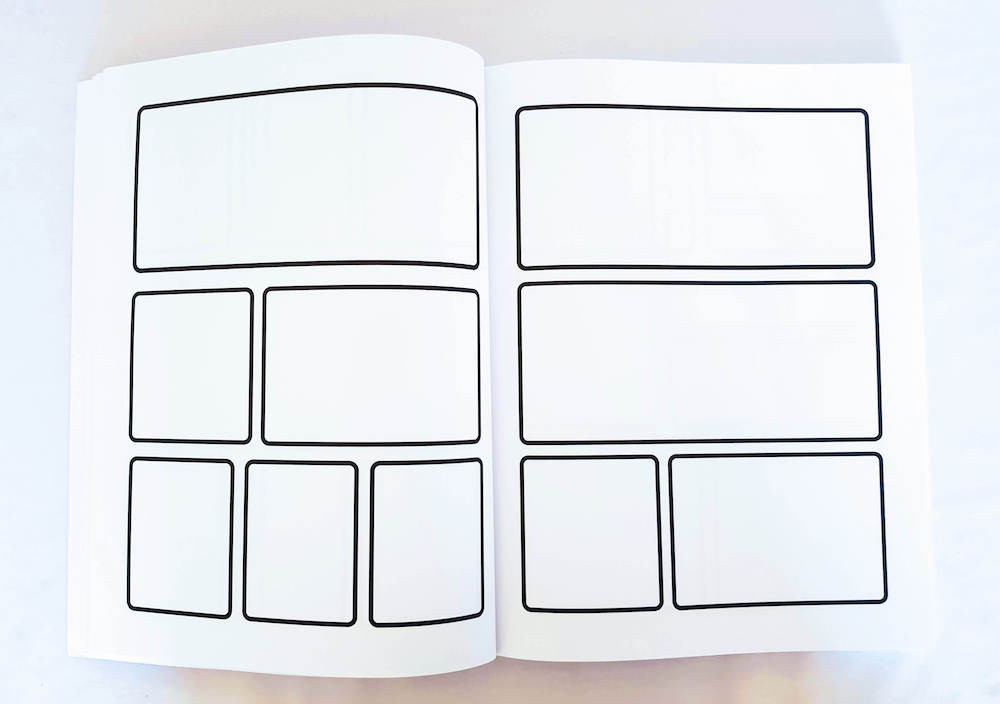 Blank comic book for kids. Blank comic book template. What Children Really Want.