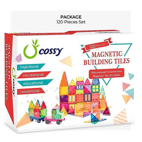 120 pcs Magnet Building Tiles