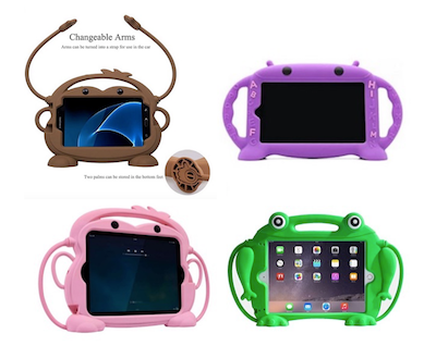 Chin Fai shockproof silicone tablet cases for kids