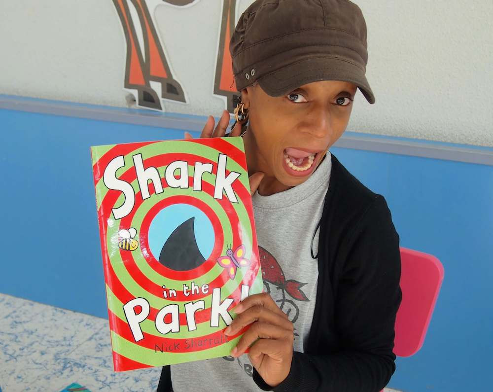 Shark In The Park story. Read by Sherry