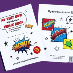 The Ultimate Blank Comic Book