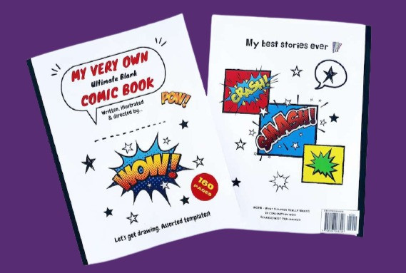 Best blank comic book for kids. What Children Really Want. DIY comic book. Blank comic for kids