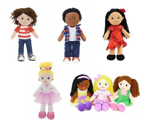 Playtime by Eimmie rag dolls