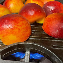 #Peaches on the grill