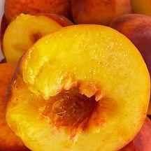 #peachs in half
