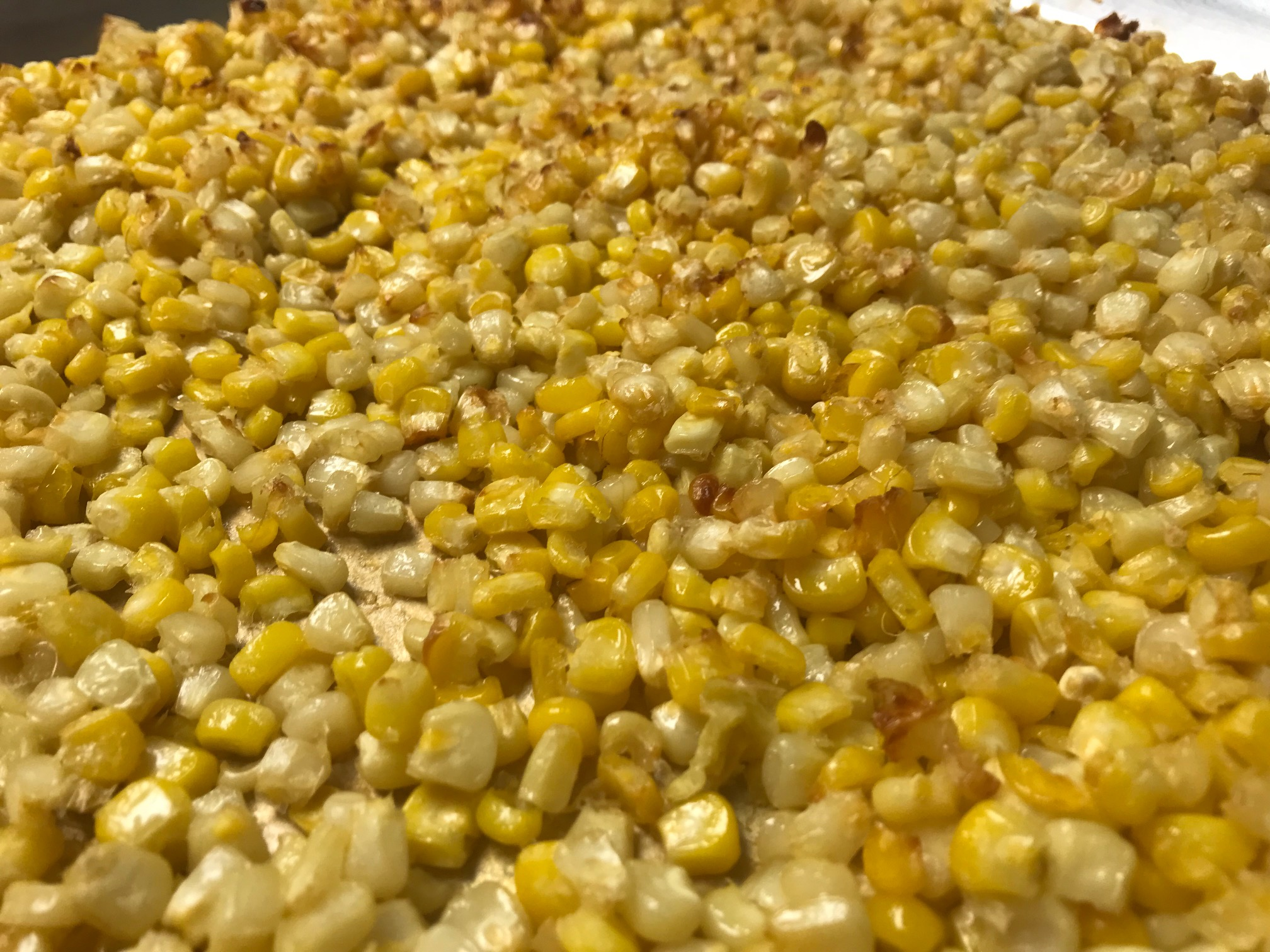 Yellow Corn roasted