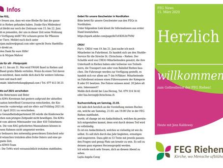 FEG News - 15.03.2020