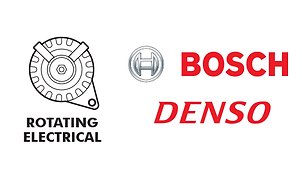 Rotating Electrical - alternator starter Bosch Denso
