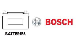 Batteries - Bosch genuine Mercedes BMW Volkswgen Audi