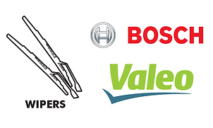 Wipers - blades windshield rear wiper Bosch Valeo