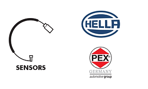 Sensors - engine mnagement pad wear sensor computer o2 knock Hella Pex Bowa