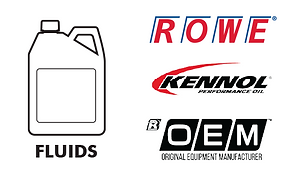 Fluids - motor oil 5w40 5w30 0w20 ATF gear oil DEF adblue coolant antifreeze Rowe Kennol OEM Total