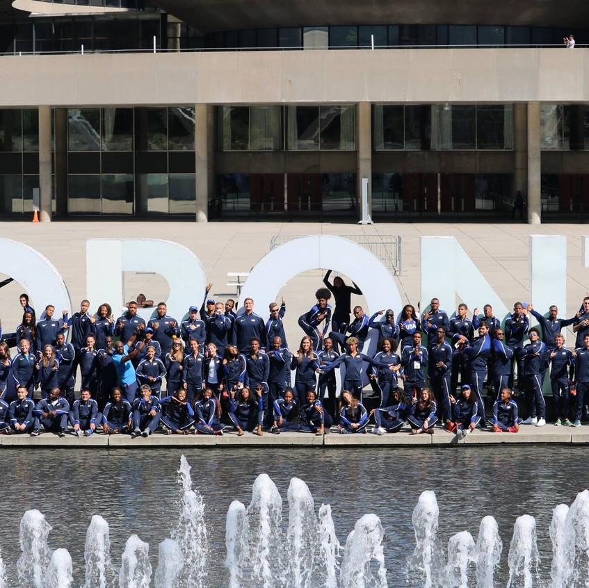 NACAC Team Photo USATF