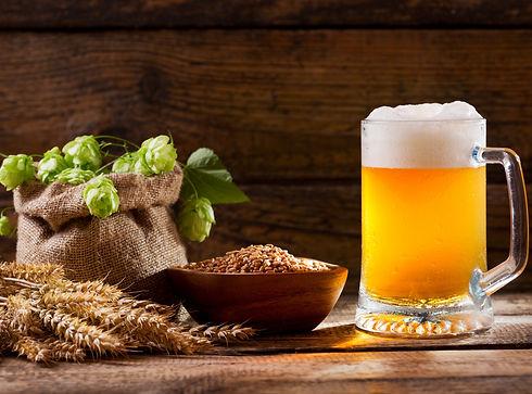 Frischhopfen Bier