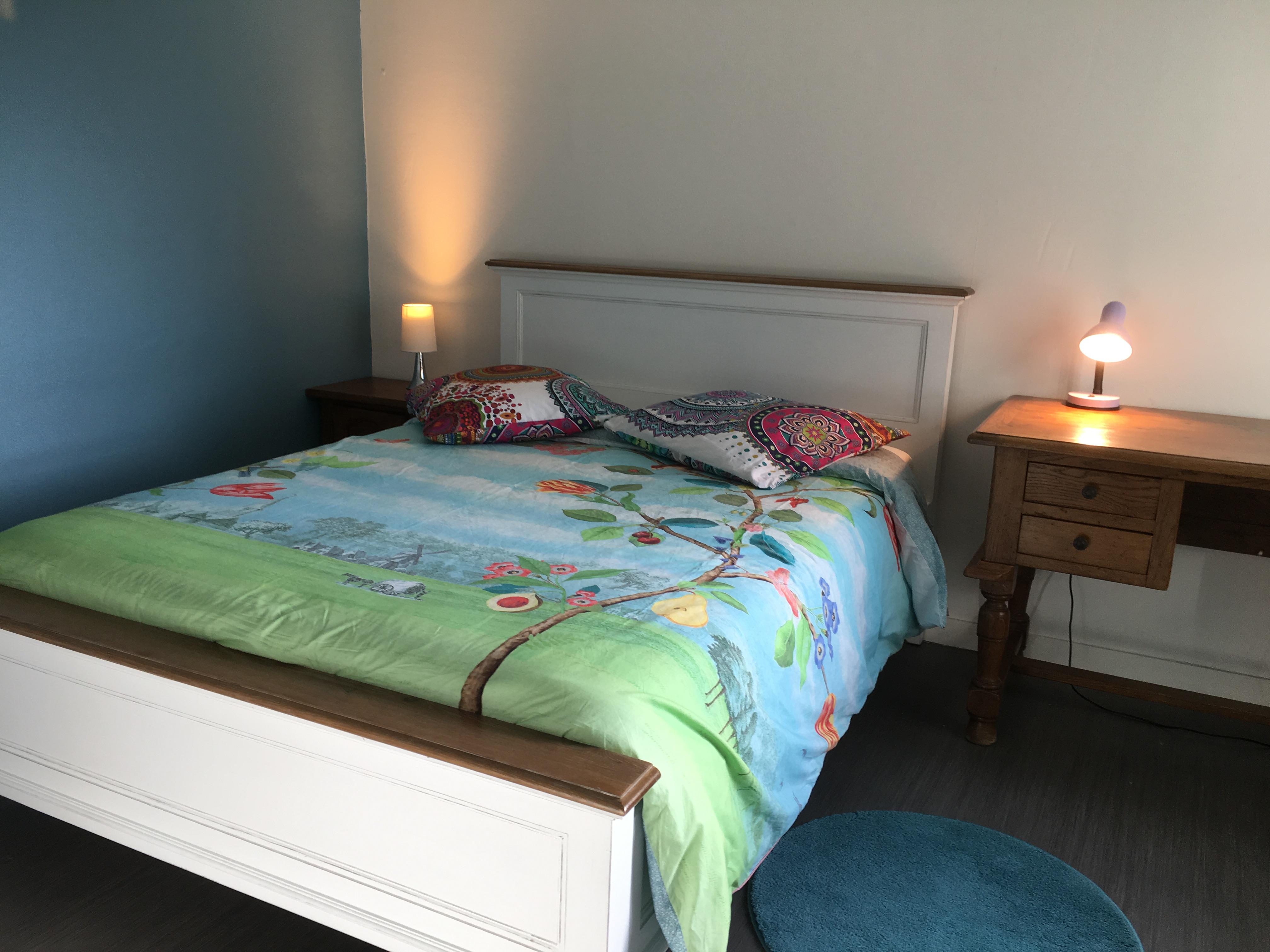 1-chambre bleue