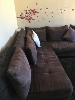 Canapé spacieux