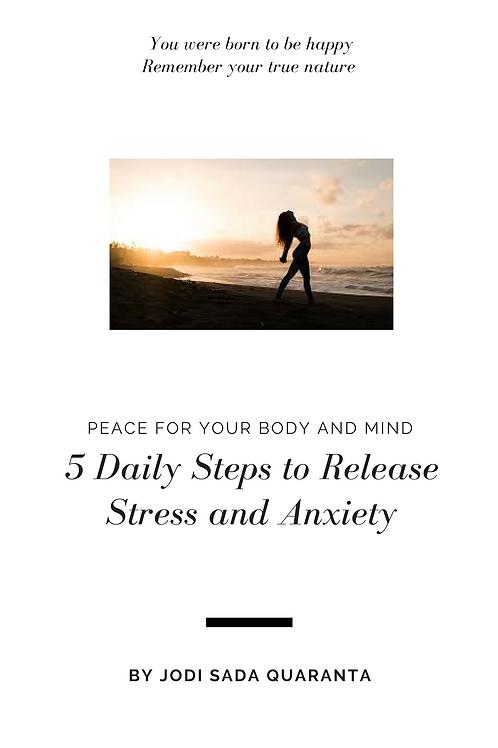Free e-book releasing stress