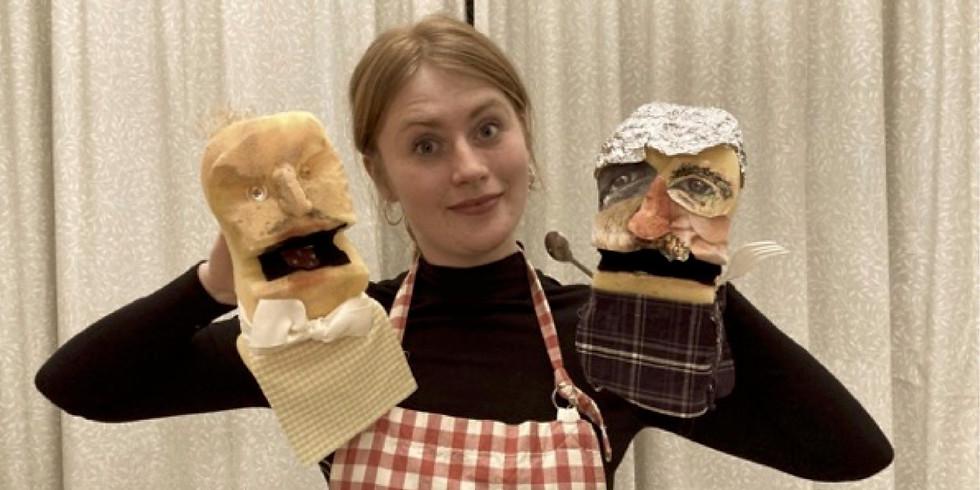 "Freddie Hayes ""Potatohead"" Puppet workshop"