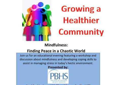 Save the Date: Mindfulness Event