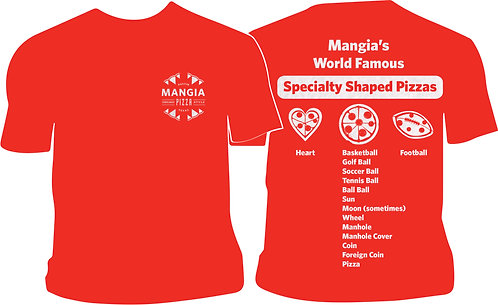 Mangia Specialty Baked Pizzas T-Shirt