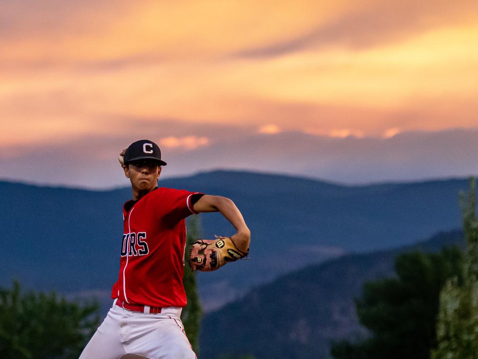 pitching sunset 15UAAA