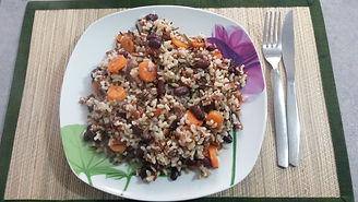 Веганская кухня. Вегетарианская кухня. Веганские рецепты. Вегетарианские рецепты. Веганские блюда с фото. Вторые блюда. Смешанный рис с фасолью