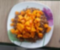 Веганская кухня. Вегетарианская кухня. Веганские рецепты. Вегетарианские рецепты. Веганские блюда с фото. Вторые блюда.  Рожь с тыквой
