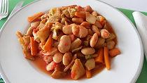 Веганская кухня. Вегетарианская кухня. Веганские рецепты. Вегетарианские рецепты. Веганские блюда с фото. Рагу с фасолью и репой